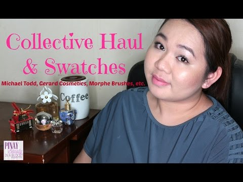 Collective Haul & Swatches | Pinay Beauty In A Budget
