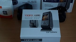 Viofo A119S with Sony IMX291 dash camera review - features and unboxing