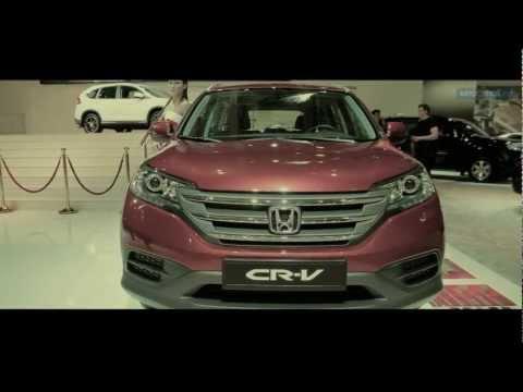 Обзор Honda CR-V