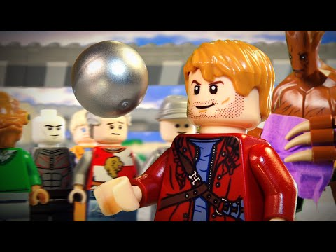 Guardians of the Galaxy IN LEGO!
