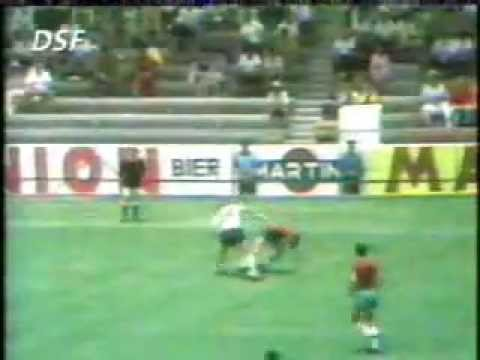 Das Spiel des Lebens von Reinhard Stan Libuda - Deutschland gegen Bulgarien