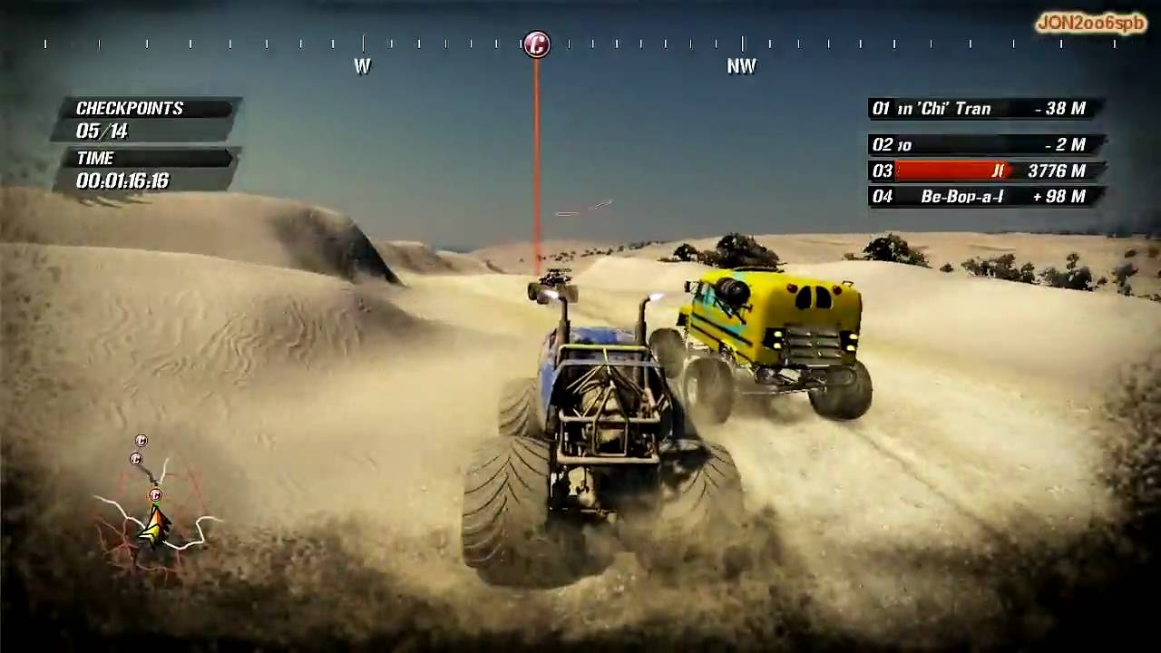 fuel pc gameplay truck race hd 720p