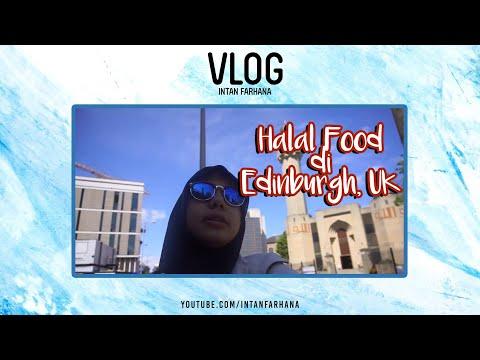 Vlog 9:  Intan Goes to the UK (Halal Food in Edinburgh) - YouTube
