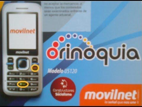 Software Y Quitar Codigo Para Orinoquia U2801. C5635. C5120 y U5120 Solución Colgado En El Logo
