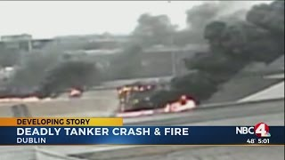 Deadly tanker crash closes portion of I-270 for hours
