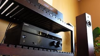 Showing RESPECT to the affordable A/V Receiver!   (featuring the Sony DH-750)