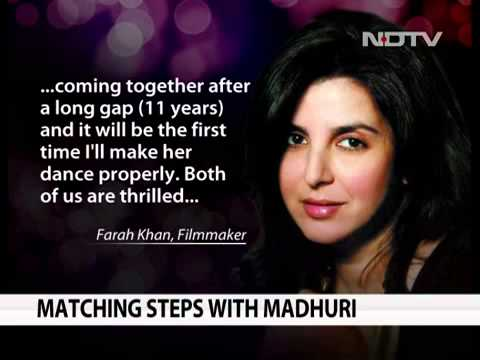 News Farah Khan To Choreograph Madhuri Dikshit and Ranbhir Kapoor12April2013...