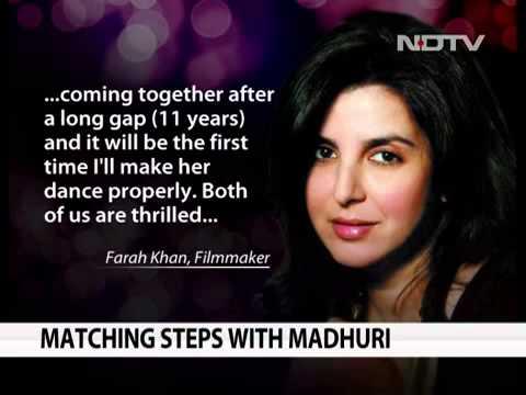 News Farah Khan To Choreograph Madhuri Dikshit and Ranbhir Kapoor12April2013...