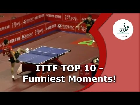 Table Tennis's 10 Funniest Moments