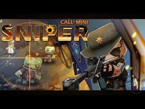 Call Of Mini Sniper - iPhone & iPad Gameplay Video