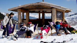 Luxury ski resort: Courchevel, France