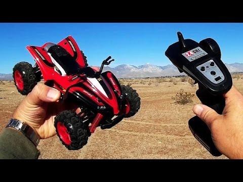 SUBOTECH BG1510A FQ777 Hopper 4WD Quad Racer Review