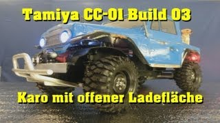Tamiya CC-01 Scale Truck Build 03 - Karosserie schneiden - Body Cutting - Darconizer RC