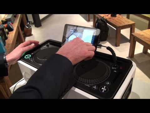 Philips MX1-DJ in action, at IFA Berlin 2013