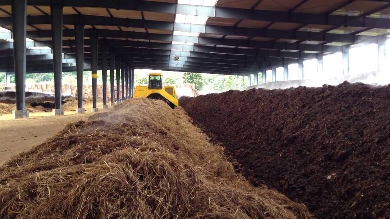 Windrow Composting Of Biosolids Youtube