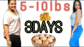 HOW TO LOSE WEIGHT IN 3 DAYS | NO Exercise | FAST Weight LOSS