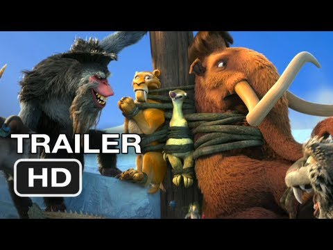 Ice Age Continental Drift Official Trailer #1 (2012) HD Movie...