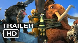 Ice Age: Continental Drift - Ice Age Continental Drift Official Trailer #1 (2012) HD Movie
