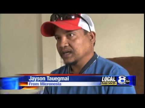 Pocatello man seeks relief for typhoon victims