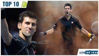 Top 10 điều thú vị về Novak Djokovic | Ăn cỏ trên sân Wimbledon; Thợ săn tiền thưởng