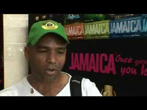 James Robertson, MP, Jamaica @ Olympics - Beijing 2008