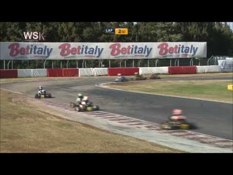 WSK CHAMPIONS CUP 2014 60 MINI FINAL ROUND 2