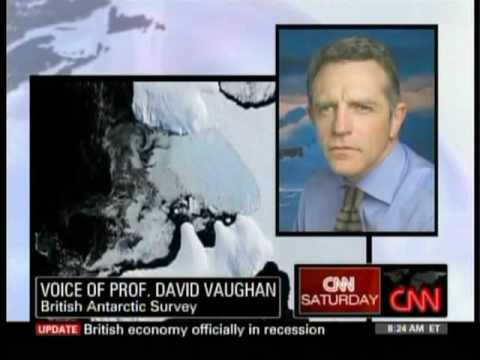 Antarctic Ice Shelf Collapses --CNN