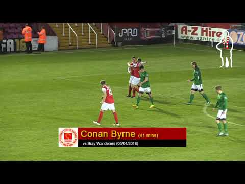 Goal: Conan Byrne (vs Bray Wanderers 06/04/2018)