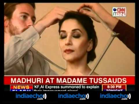 Madhuri At Madame Tussauds - Indaiecho.com