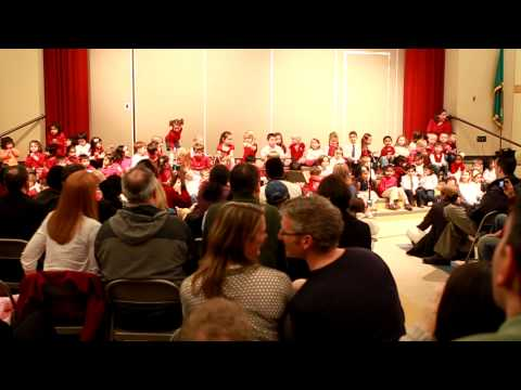 Kirkland Evergreen Academy Singing Jingle Bells
