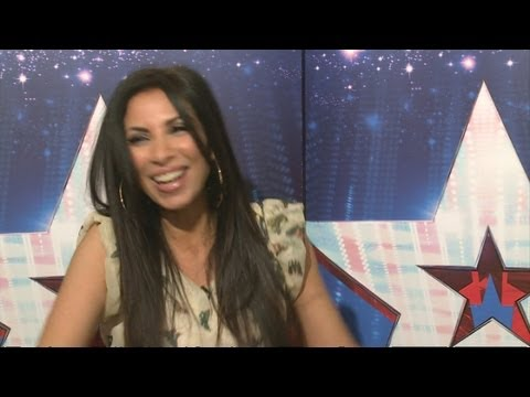 Britain's Got Talent 2013: Francine Lewis impersonates Cheryl Cole, the Kardashians and Simon Cowell