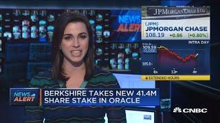 Berkshire Hathaway takes new $35.6 million stake in JPMorgan