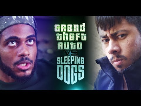 Grand Theft Auto VS Sleeping Dogs (Lightsaber Duel)