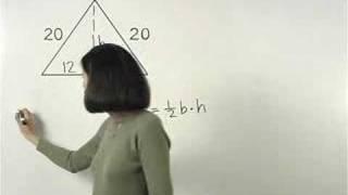 Area of a Triangle - MathHelp.com - Geometry Help