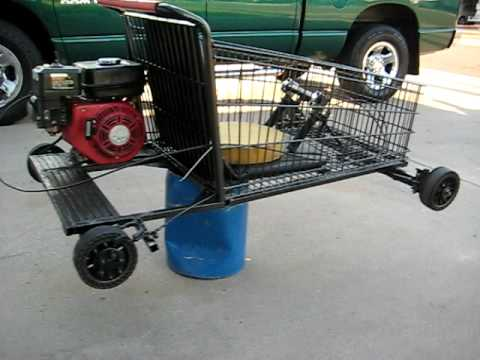 Shopping Go Kart Homemade - YouTube