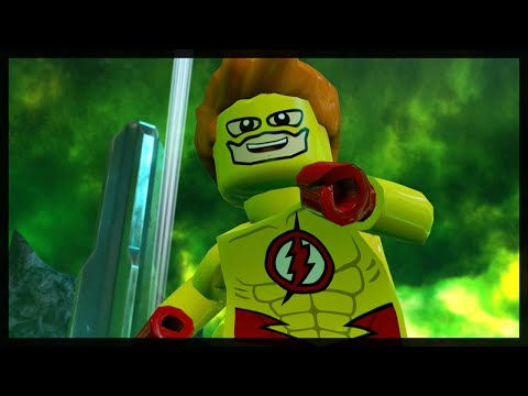 LEGO BATMAN 3 - KID FLASH FREE ROAM GAMEPLAY!
