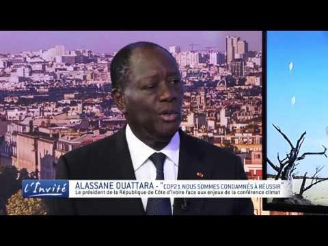 """Alassane OUATTARA : """" On ne peut pas se permetttre un échec à la COP21"""""""