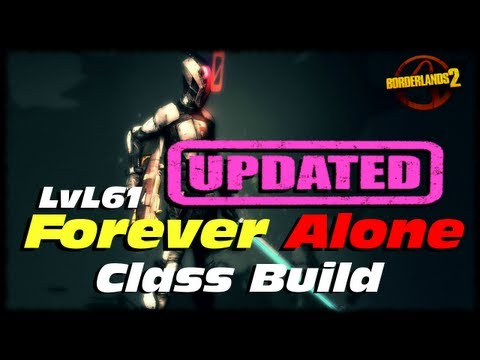 Borderlands 2 Updated Lvl 61 Forever Alone Massive Fire Rate Infinity Zer0 Build Guide w/ Download!