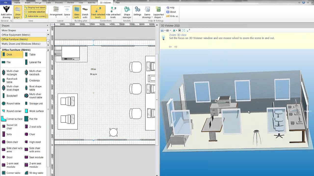 how to create boxes in visio youtube