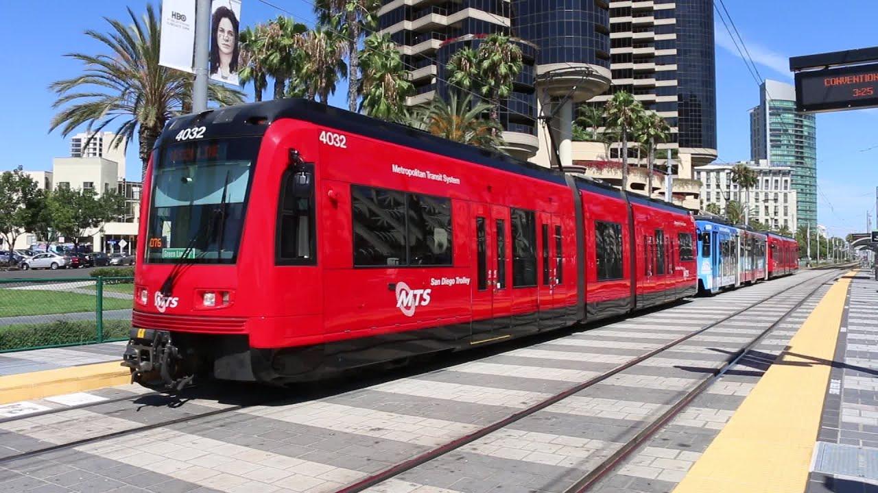 Trolleys San San Diego Trolley Sdmts