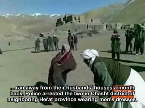 Two Afghan women are publicly flogged by local warlord in Ghor