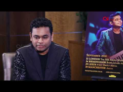 Rahman promises 'interactive musical experience' in UK