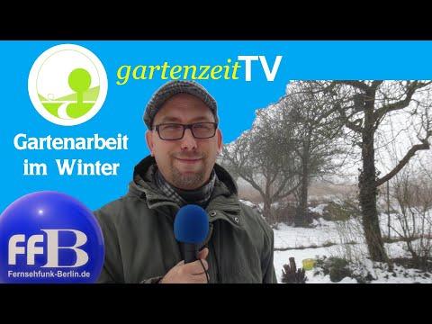 """Gartenzeit TV - """"Winterarbeit im Garten"""""""