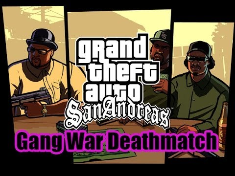 GTA SAMP - Gang War Deathmatch