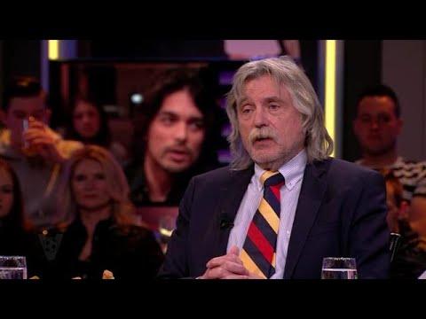 Johan Derksen geniet van Songfestivalnummer van Waylon: ''Spectaculair'' - VOETBAL INSIDE