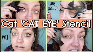 HACK OR HOAX | 'Cat Line' Cat-Shaped Eyeliner Stencil... Seriously??