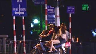 """Tranh cãi việc """"10 điểm nóng mại dâm"""" ở Hà Nội vắng phố Trần Duy Hưng   VTC14"""
