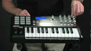 Akai MPK25 Video Demo