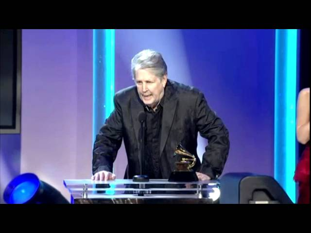 Big Noise Archive : The Beach Boys Win First-Ever Grammy Award! (Full Clip)