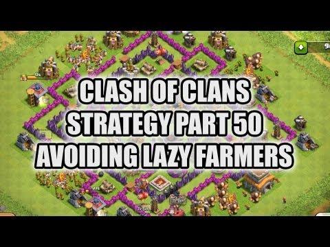 Clash of Clans  - Part 50 - Avoiding Lazy Farming